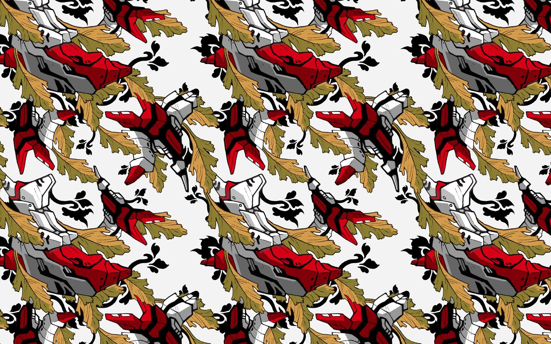 Wallpaper pattern design 1 edouard artus 2012 edouard artus for Wallpaper pattern design